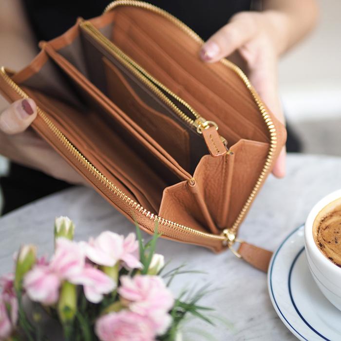 Classic wallet-Caramel